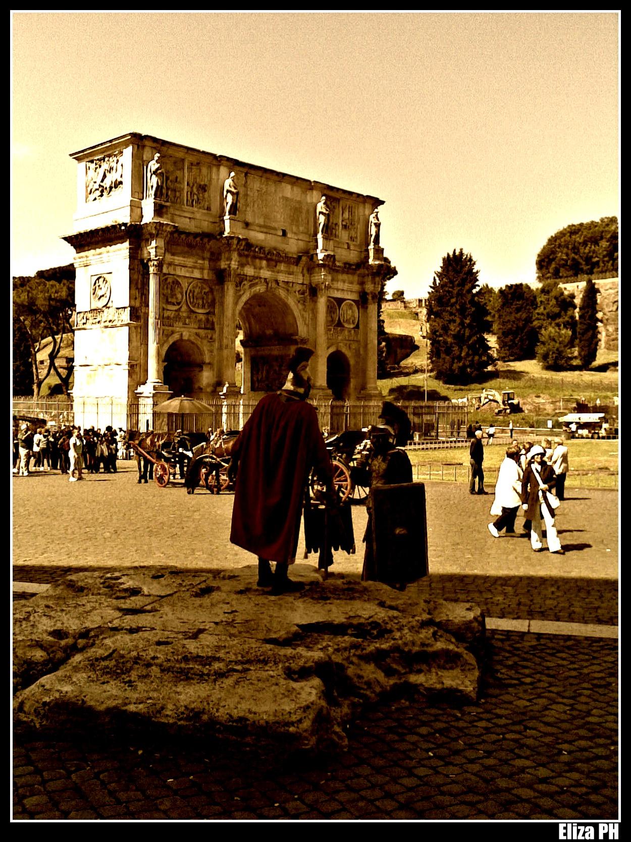 Roma sotto la pelle in parole semplici for Mattone guardando schierandosi